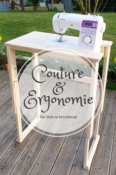 Sewing Techniques 489555421994943108 - Couture & Ergonomie – Bab la bricoleuse Source by christinedrie Coin Couture, Couture Sewing, Techniques Couture, Sewing Techniques, Costura Diy, Craft Station, Desk Inspiration, Creation Couture, Sewing Table