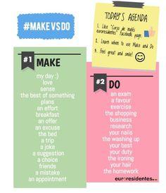 Do vs. Make(5 pics)