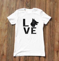 GSD Love German Shepherd Unisex T-shirt by ALPHAKNINEAPPAREL on Etsy https://www.etsy.com/listing/277886874/gsd-love-german-shepherd-unisex-t-shirt