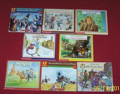 History If You Lived.....  Level 3 Books Lot of 8 Homeschool Teachers