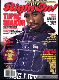 mine hip hop rap old school Tupac hip-hop tupac shakur 2 pac hiphop pac old school hip hop old school rap right on hip hop rap right on magazine Bedroom Wall Collage, Photo Wall Collage, Picture Wall, Room Posters, Poster Wall, Poster Prints, Magazine Wall, Vibe Magazine, Magazine Covers