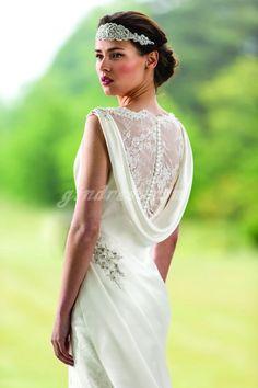 vintage wedding dress vintage wedding dresses.. I LIKE THE HEADBAND