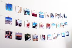 DIY Instagram Photo Wall Hanging – One to Nothin'