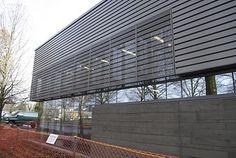 perforated corrugated steel