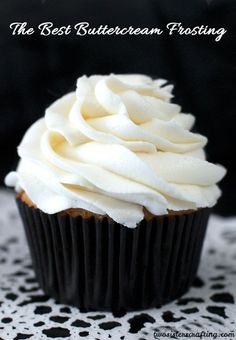 The Best Buttercream Frosting