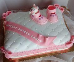 Chrzciny (baptism cake)