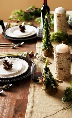 Beautiful Table Setting//