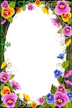 See the source image Frame Border Design, Boarder Designs, Page Borders Design, Photo Frame Design, Flower Backgrounds, Flower Wallpaper, Poster Background Design, Boarders And Frames, School Frame