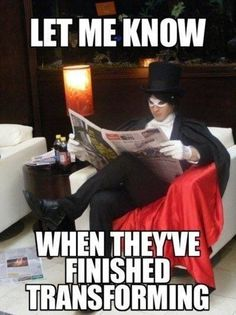 """I'll just sit here and read the funnies...gotta love Pearls Before Swine!"" (Tuxedo Mask cosplay from Sailor Moon; pic via xprofawesome)"