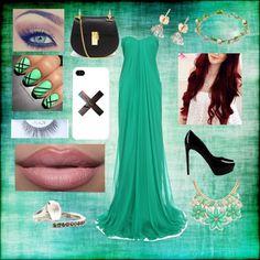 Prom in Green