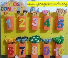 Math activity for toddlers Preschool Classroom, Preschool Learning, Kindergarten Activities, Toddler Activities, Classroom Decor, Learning Activities, Preschool Activities, Math For Kids, Crafts For Kids