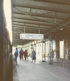 Luxembourg, Luxembourg.  when we were new Trainees, we flew into Luxembourg city via Luxembourg Air.  i trained through the city now in Feb '92