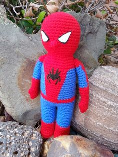 crochet spider man doll made by ashton muoz - Spider Man Gratuit