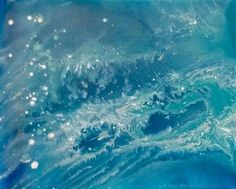 "ARTFINDER: Tidal Swell by Jessica Sanders - I have spent many hours studying maps and satellite images of the earth,  They fascinate me.  ""Tidal Swell"" is inspired by the amazing views of the ocean fro..."