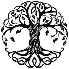 Tree of life tattoo tribal celtic knots Ideas Tree Of Life Images, Tree Of Life Art, Celtic Tree Of Life, Tree Art, Celtic Tree Tattoos, Viking Tattoos, Tree Of Life Tattoos, Celtic Symbols, Celtic Art