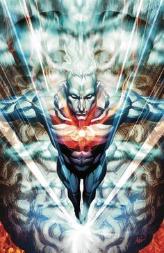 "Captain Atom by Stanley ""Artgerm,"" Lau"