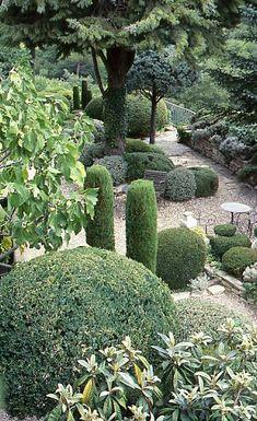 Jardin de la Louve, Bonnieux.
