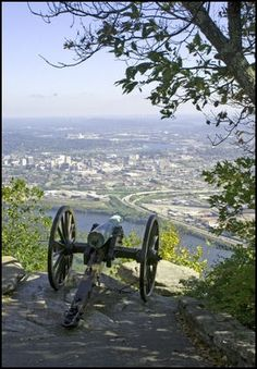 Lookout Mountain, Battlefield - Overlooking Chattanooga, TN