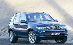 BMW X5 Blue w/ Tan Interior