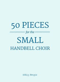 Ever since we started directing handbell choirs, we've struggled to find music that is accessible and appropriate for worship for small groups of ringers. Sure, there are plenty of beginning pieces (Levels 1 and 2), but much of the literature calls for 15 or more bells (2+ octaves), which is