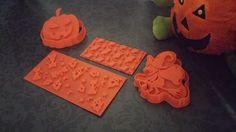 Cortador de galletas, expulsor de galletas y texturizadores personalizados de Halloween