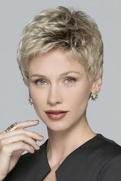 Boycuts Straight Blonde Synthetic Short Hair Wigs help you achieve a beautiful and natural hair style. Pick from our large collection of different types of woman wigs. Haircut For Older Women, Short Hair Cuts For Women, Short Hairstyles For Women, Straight Hairstyles, Short Grey Hair, Short Hair Wigs, Black Hair, Short Pixie Haircuts, Pixie Hairstyles