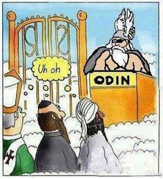 #Odin....not Gary Larson, but beautiful!