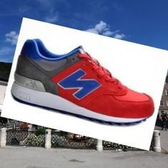 the latest 9c1d6 9b697 New Balance 576 Herre Trænere Rød-Blå-grå,Good quality!You are worthy to  wear it .