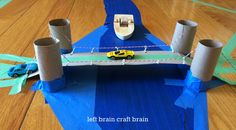 Engineering 201: DIY Recycled Suspension Bridge - Left Brain Craft Brain