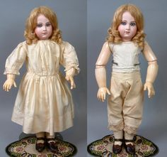 If early French Jumeau dolls make your heart go pitter-patter and if you just can't resist antique dolls dressed in their original clothes, you have