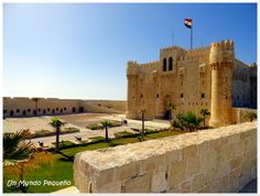 Fortaleza de Qaitbey en Alejandría #Egypt #Alexandria #Egipto