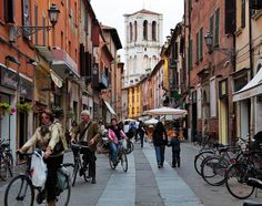 Visit Ferrara, a Gorgeous Town in Northern Italy Bratislava, Prague, Budapest, Shopping In Italy, Italy Trip, Old Montreal, Montreal Canada, Toronto Canada, Bologna Italy