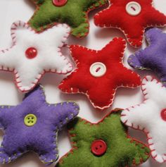 Individual christmas star - Red £1.50