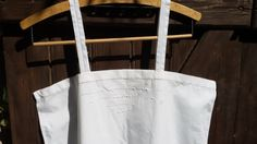 White Antique cotton slip dress , monogrammed . Beautiful front cut work embroidered.  Medium / Large size…