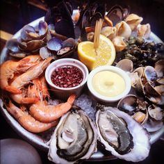 Wright Bros, Borough Market London seafood platter fruits de mer 2012