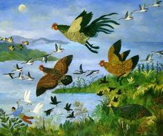 The Call of the Wild by Anna Pugh.
