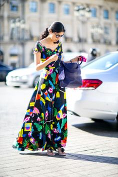 Bright coloured maxi....adore