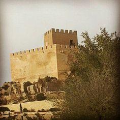 Castillo de Petrer #Alicante #Spain #fotografía castillos del Vinalopó