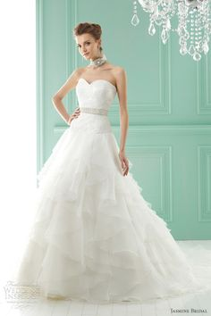 Am loving the ruffles by Jasmine Bridal