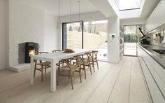 London townhouse / Dinesen flooring / Bulthaup kitchen