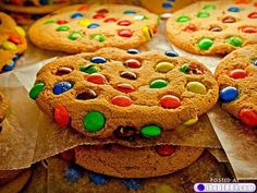 Perfect M cookies