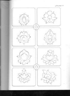 55 Islamic Motifs, Islamic Patterns, Arabesque, Zentangle, Flower Henna, Art Basics, Persian Pattern, Fabric Stamping, Arabic Calligraphy Art