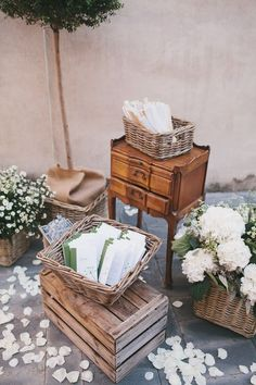 gorgeous rustic wedding decor