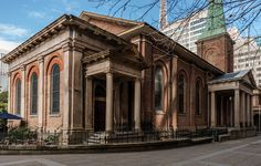 More recent image of St James' Church, King Street, Sydney. Designed by FRANCIS GREENWAY