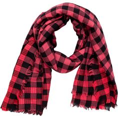 Pre-owned Marc Jacobs Gingham Raw-Edge Scarf ($65) ❤ liked on Polyvore featuring accessories, scarves, orange, orange scarves, orange shawl, print scarves, marc jacobs scarves and patterned scarves