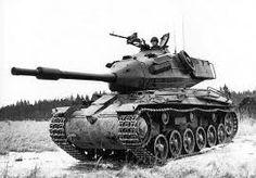 Een tank tijdens de Koude Oorlog