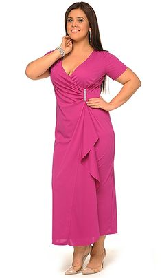 Fasion, Fashion Outfits, Plus Zise, Plus Size Fashion, Plus Size Women, What To Wear, Evening Dresses, Dressing, Gowns