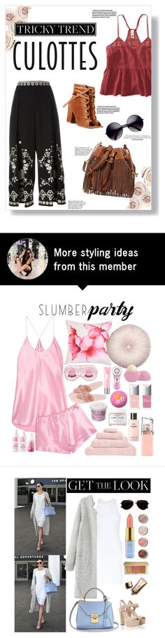 """""""Cullotes"""" by shiellemarie on Polyvore featuring Aéropostale, Temperley London, Gianvito Rossi, ZeroUV, Diane Von Furstenberg, TrickyTrend and culottes"""
