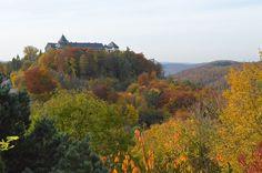 Waldeck, Hesse : Schloss in Autumn