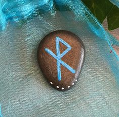 Safe Travel Bind Rune Stone Amulet & Pouch. Norse Amulet or Pagan Journey Talisman Natural Sea Stone Energy Charm Witch by wildseawitch on Etsy